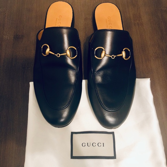 cebc31d0e Gucci Shoes | Princetown Leather Mule | Poshmark